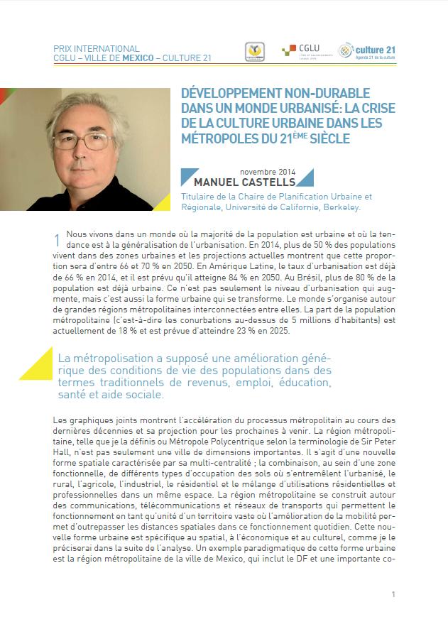 Manuel Castells Article