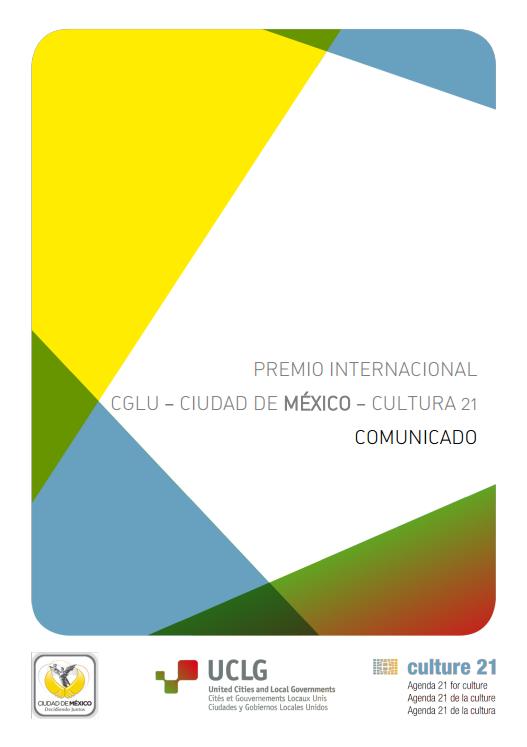 Communicado del Jurado 1ª edición del Premio