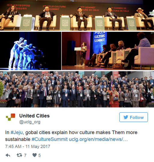 The Summit on the web: Storify