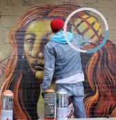 Bogotá, Práctica responsable del grafiti.